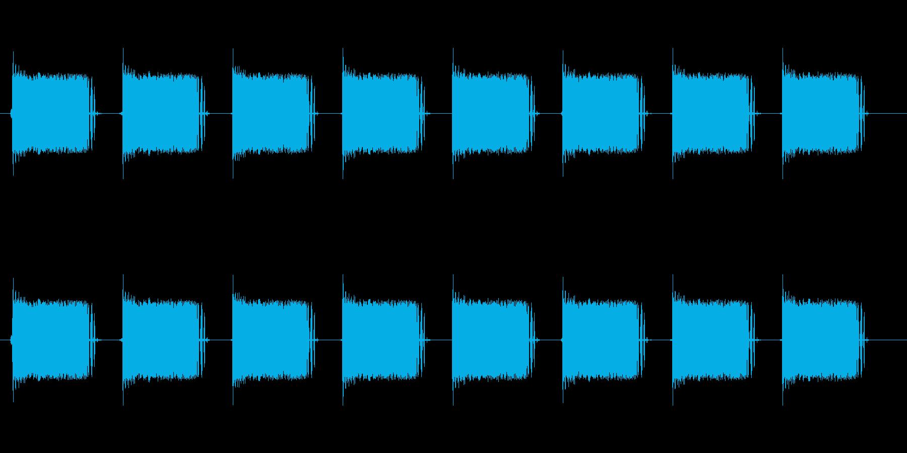 レトロ調な警報。ループ可能。の再生済みの波形