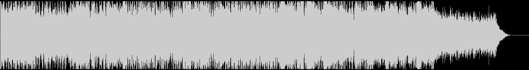 ダークな和風ドラムンベースEDM篠笛生録の未再生の波形