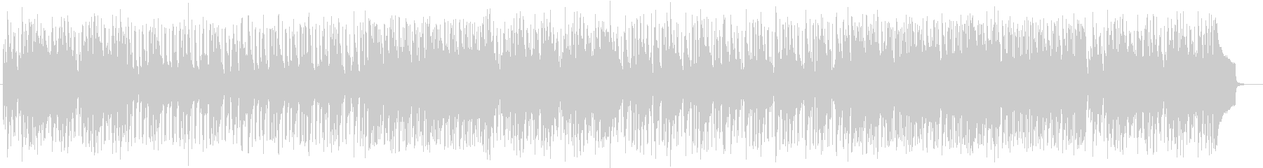 A fashionable and cute song's unreproduced waveform