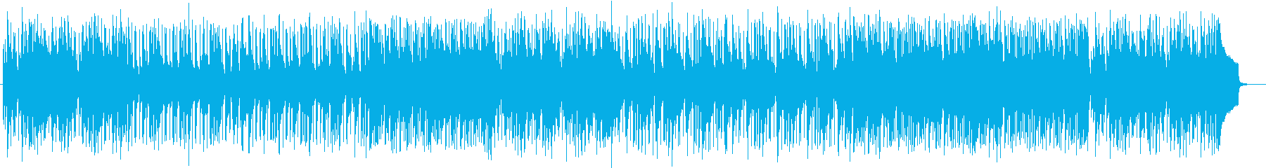 A fashionable and cute song's reproduced waveform