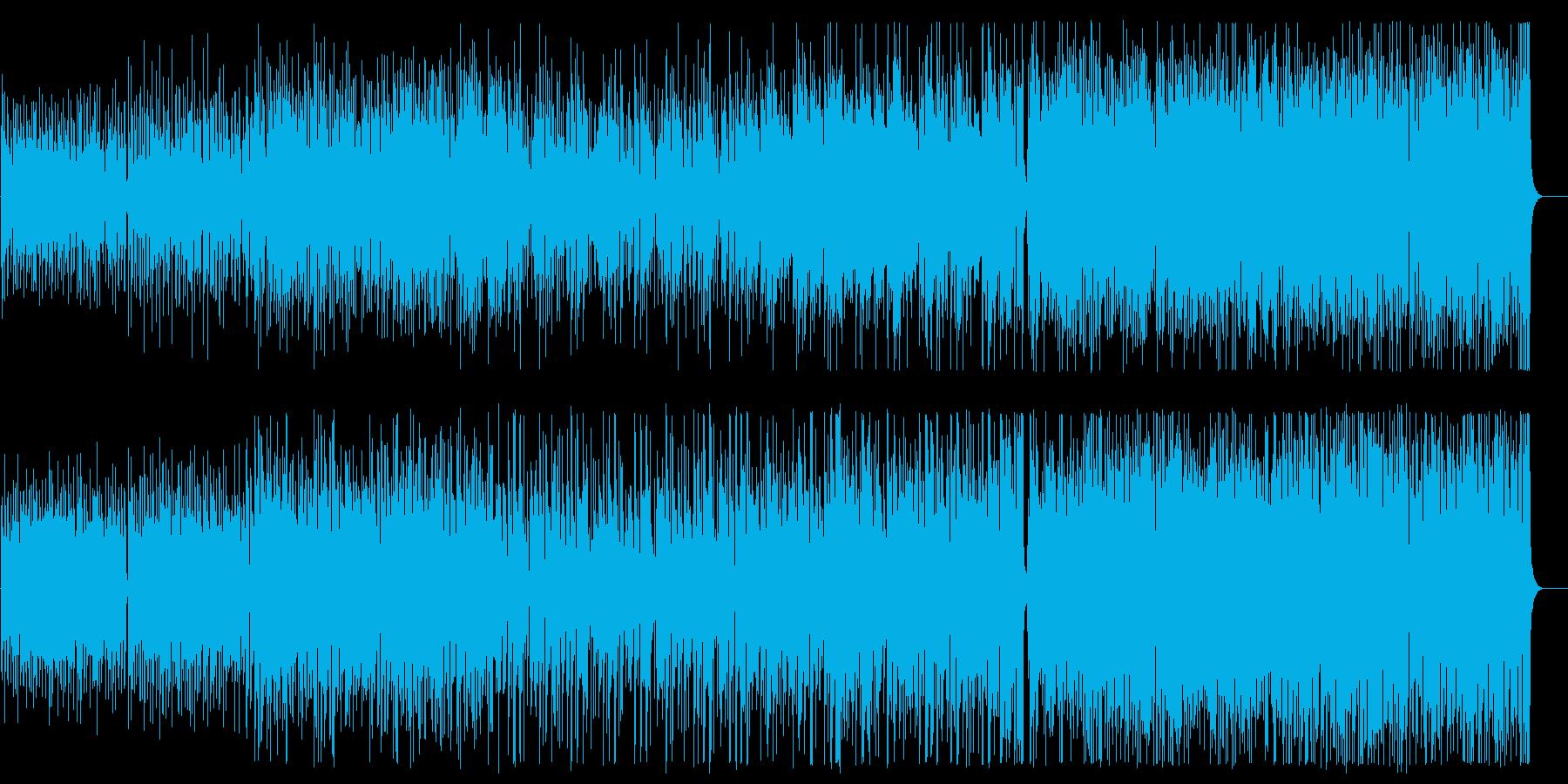 華麗で優雅なジャズ風ピアノシンセBGMの再生済みの波形