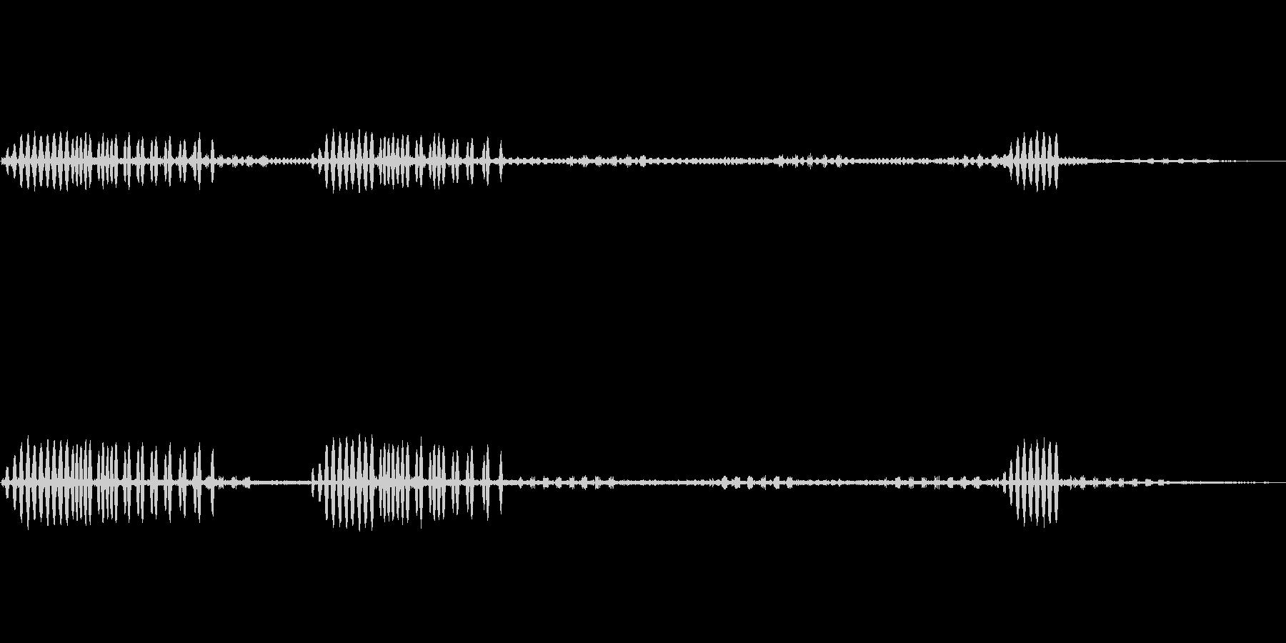 鈴虫,コオロギが鳴く秋の夜の効果音!02の未再生の波形
