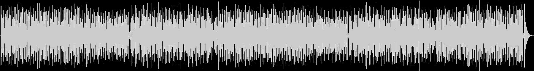 ポップで可愛いハウスミュージックの未再生の波形