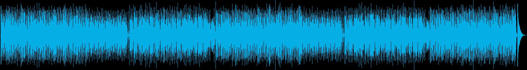 ポップで可愛いハウスミュージックの再生済みの波形