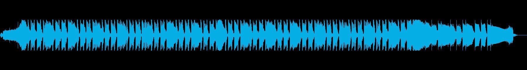 通信IDベッドの再生済みの波形