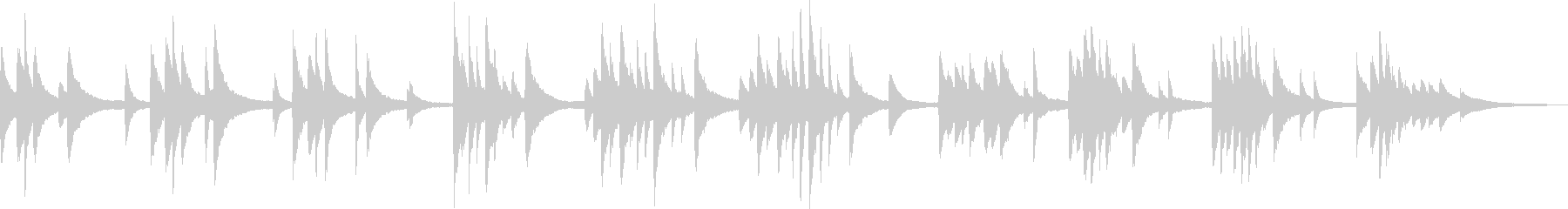 Fleeting and fantastic piano ballad (painful)'s unreproduced waveform