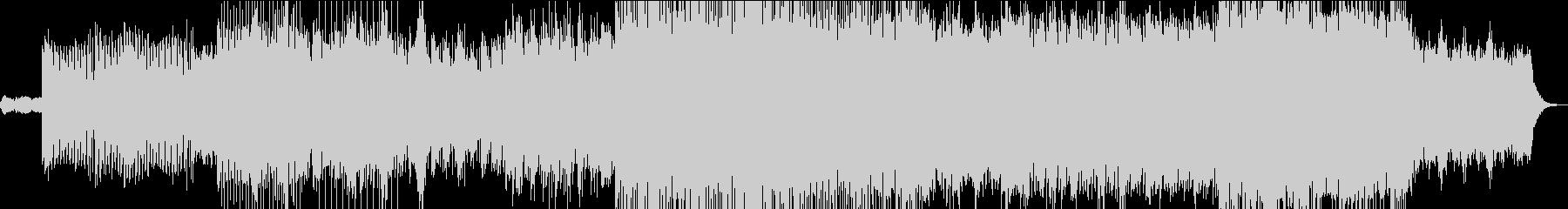 リフレインが印象的に響くテクノPOPの未再生の波形