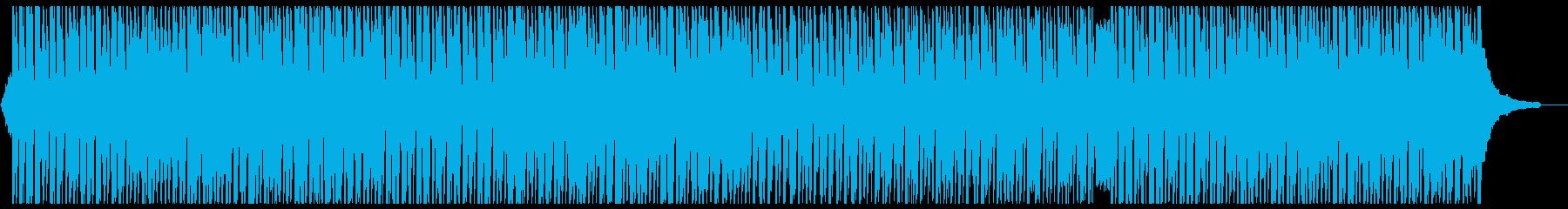 可愛くノリの良いアコースティックポップの再生済みの波形