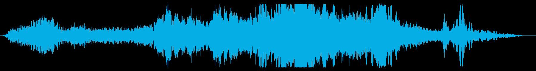 デーモンライジングスクリームの再生済みの波形