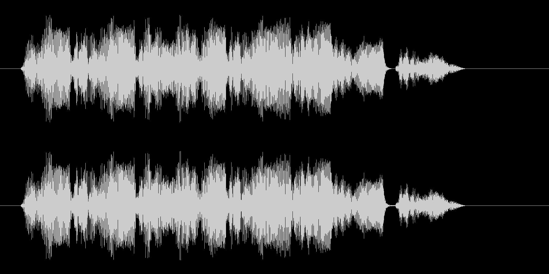ビュルル(ワープや場面展開系の音)の未再生の波形