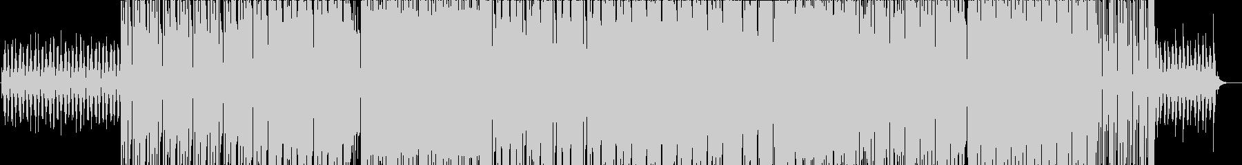 クールで都会的な R&B/HIPHOPの未再生の波形