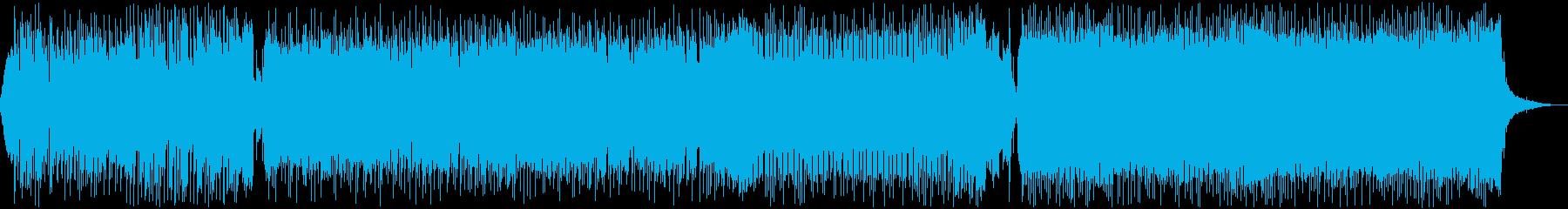可愛いFuture Bass 声ありの再生済みの波形