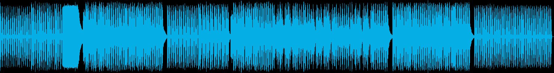 ダンス。テクノ。の再生済みの波形