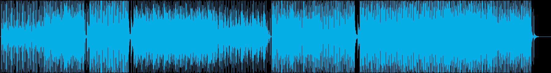 midテンポ-EDM-ハウス-PV-軽快の再生済みの波形