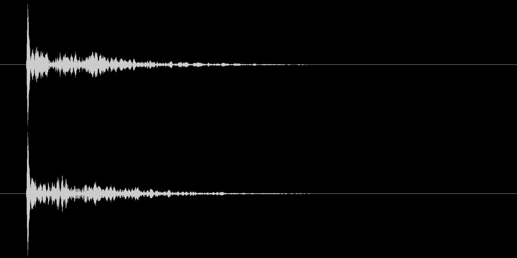 和風 小鼓乙(つづみ・おつ) ポンの未再生の波形