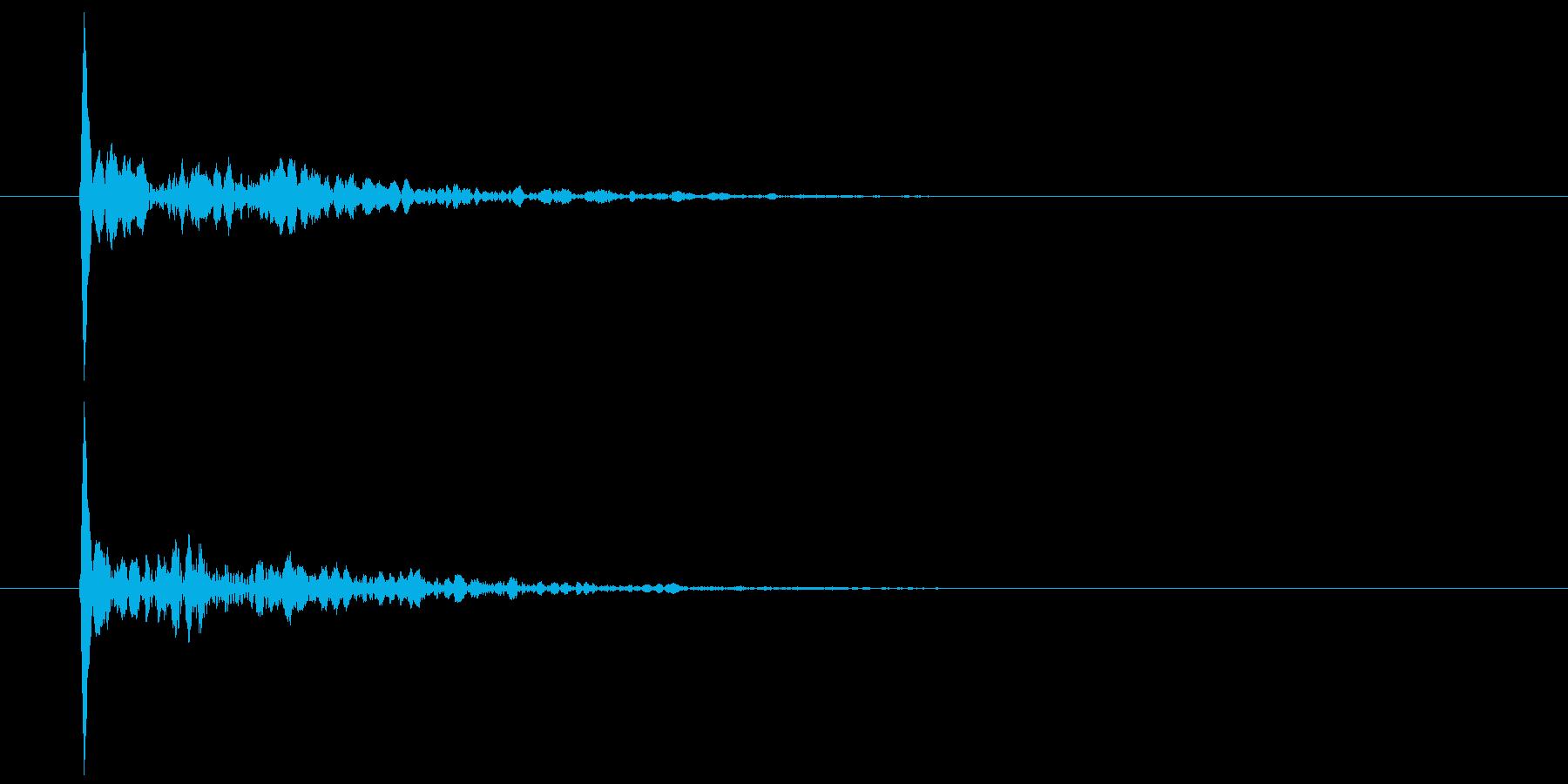 和風 小鼓乙(つづみ・おつ) ポンの再生済みの波形