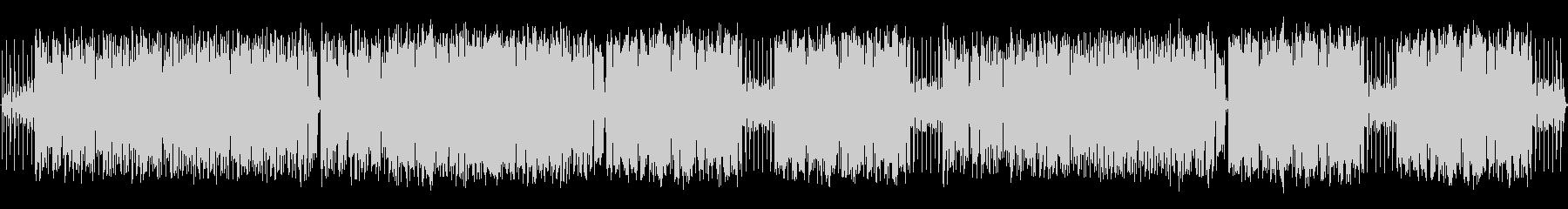 パズルゲームに合うフュージョン曲の未再生の波形