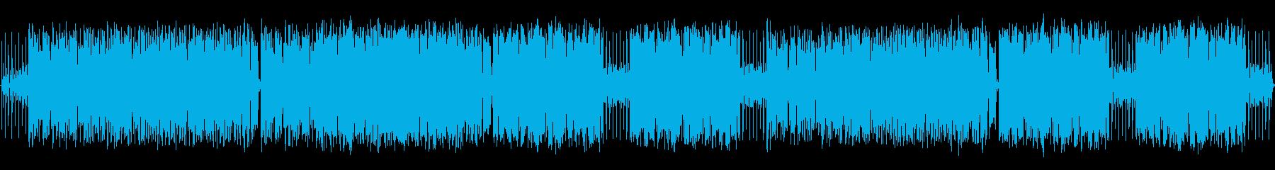 パズルゲームに合うフュージョン曲の再生済みの波形