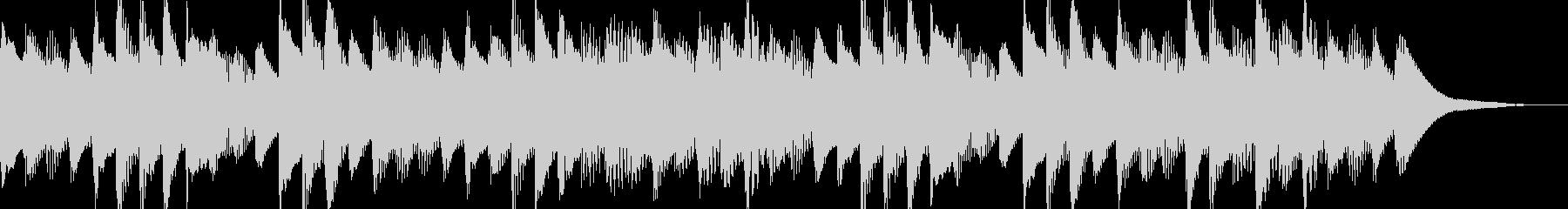 ほのぼのとしたマリンバ ジングル 日常系の未再生の波形