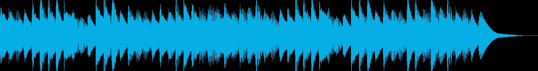 ほのぼのとしたマリンバ ジングル 日常系の再生済みの波形