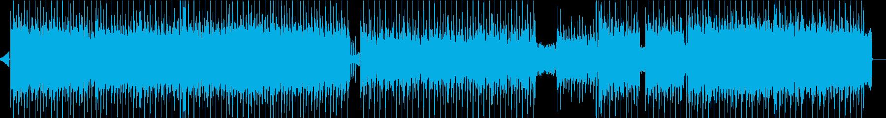 エッジの効いた、ラフなエレクトロ/...の再生済みの波形