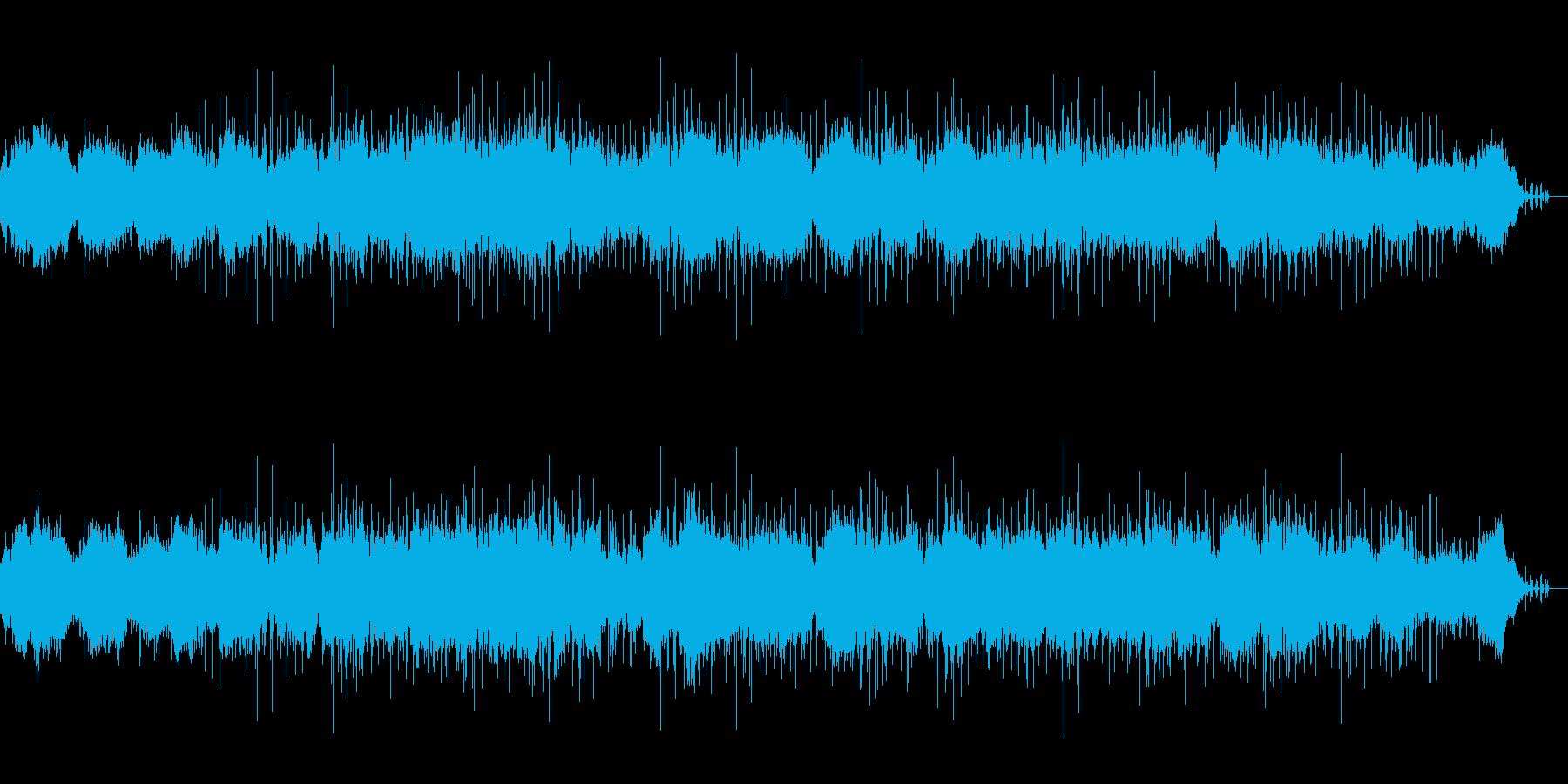 環境音とオルガンの作品 ショートVer.の再生済みの波形