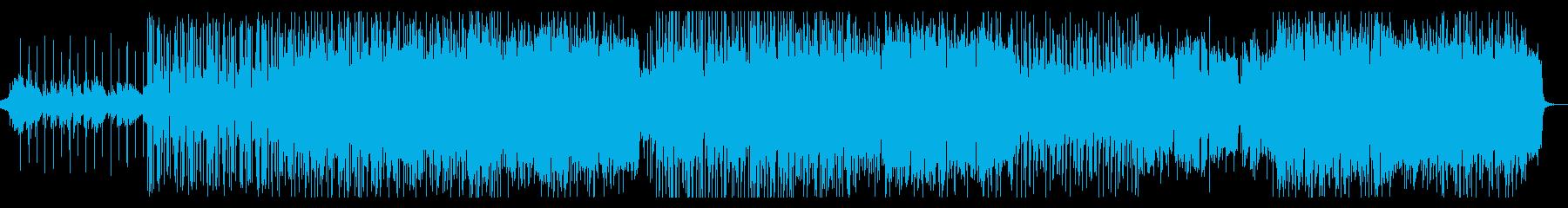 少し切ないラブバラードの再生済みの波形