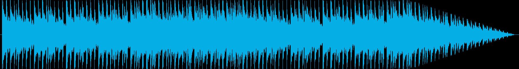 コマーシャル用の音楽。テレビのバッ...の再生済みの波形