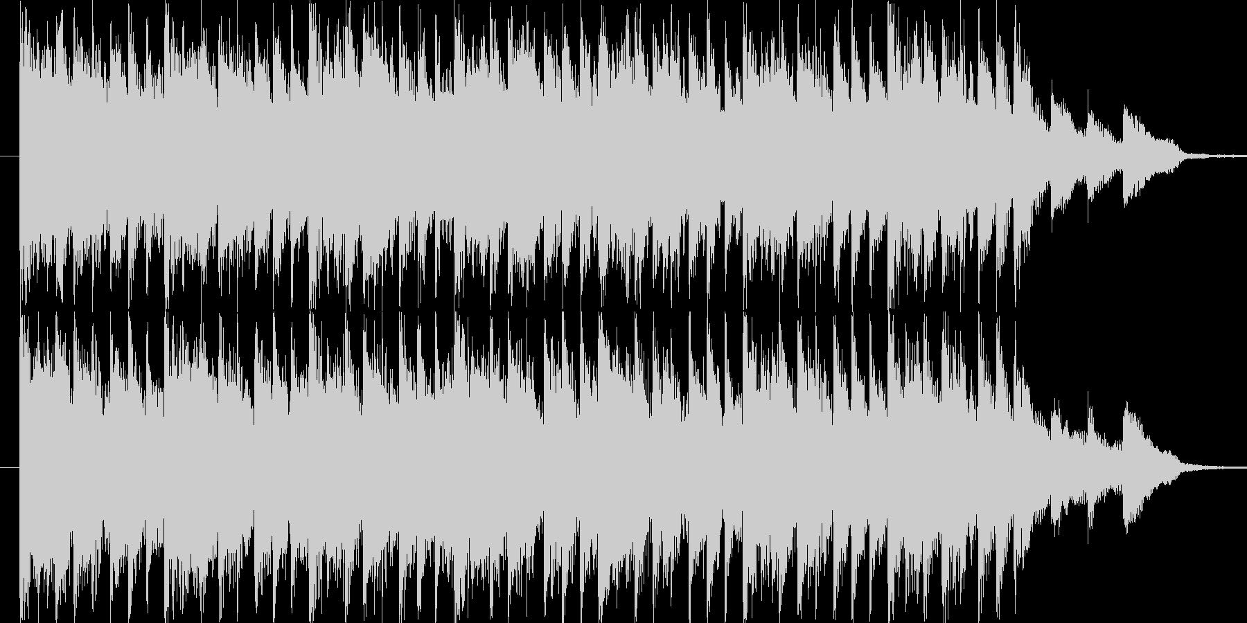 リズミックなポップBGM(15ver)の未再生の波形