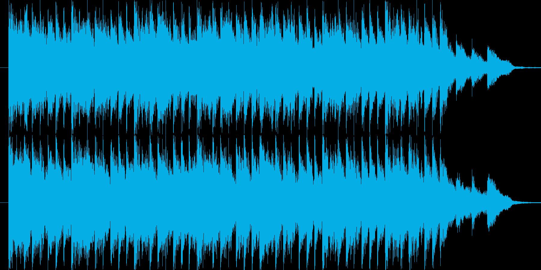リズミックなポップBGM(15ver)の再生済みの波形