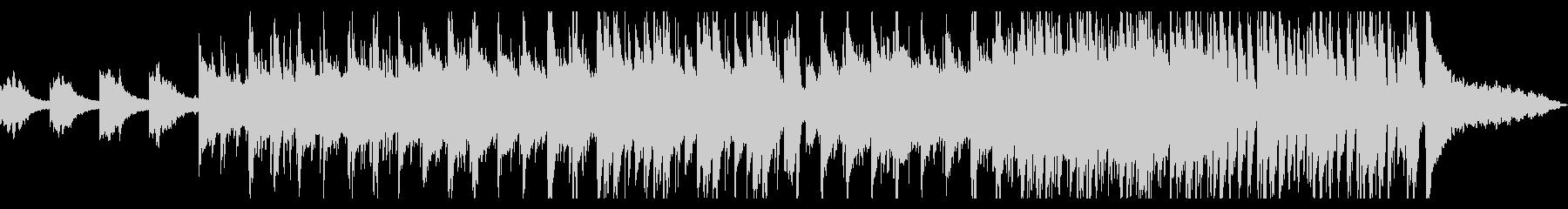 ゆったりとしたバンド系インストの未再生の波形