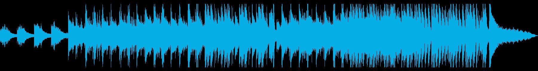ゆったりとしたバンド系インストの再生済みの波形
