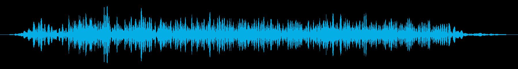 カエル モンスター キャラタップ 困惑の再生済みの波形