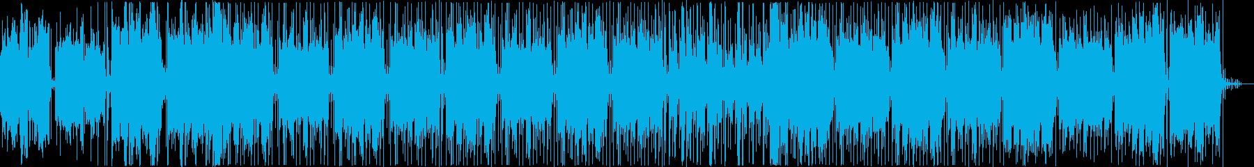 爽やかでトロピカルなLoFi Hiphoの再生済みの波形
