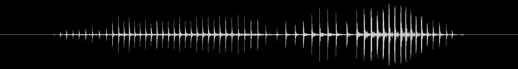 FX おならブライト02の未再生の波形
