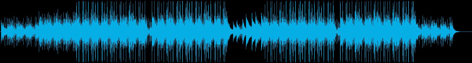 洋楽、チルアウト、おしゃれR&Bビート♫の再生済みの波形