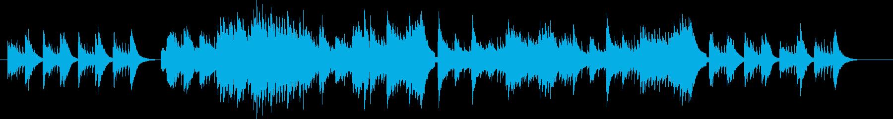 リコーダーとギターのシンプルなアレンジの再生済みの波形
