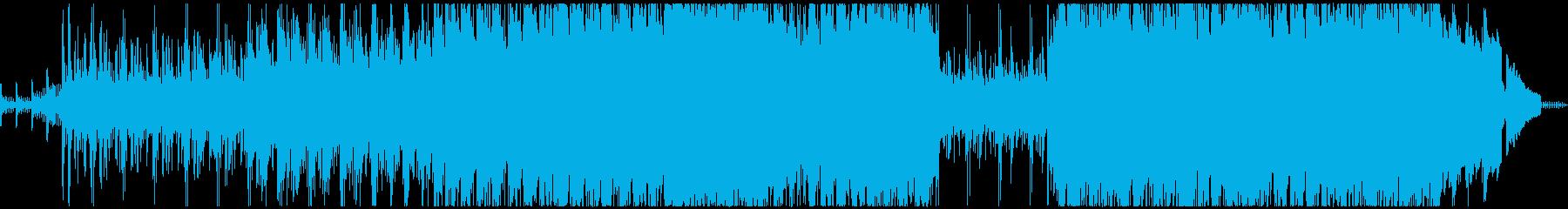 時計仕掛けの風変わりなパンクロックの再生済みの波形