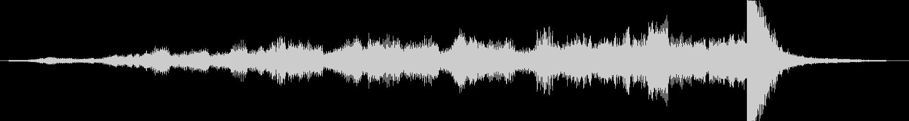 シーケンス オーケストラビルドアップ01の未再生の波形