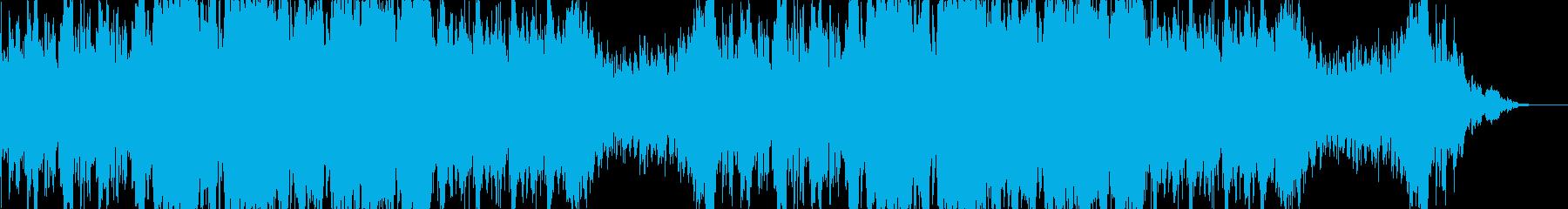 壮大で白熱な音色のオーケストラソングの再生済みの波形