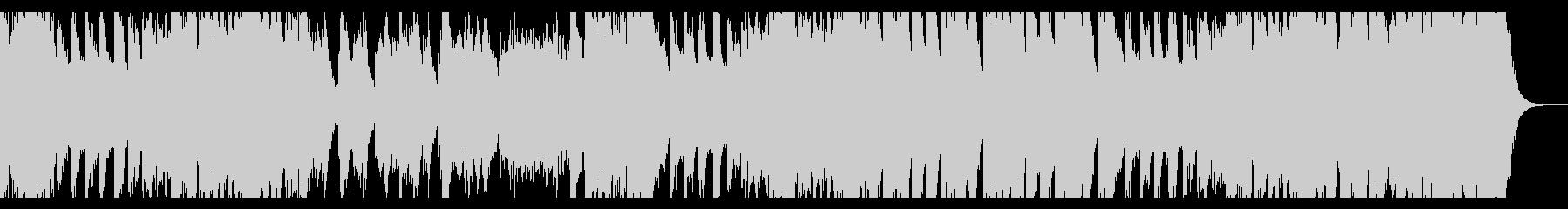 オーケストラ的シンセ音楽の未再生の波形
