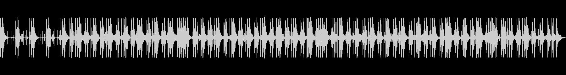 ピチカートを使った日常系オーケストラの未再生の波形