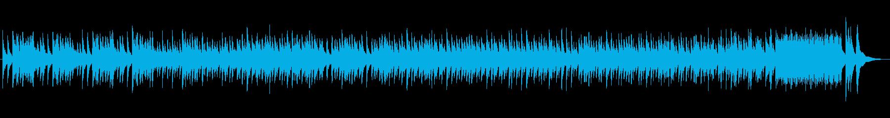 和風、日本風のBGMの再生済みの波形