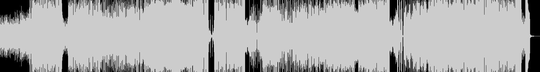 アイドリーなテクノポップ エレキ有の未再生の波形