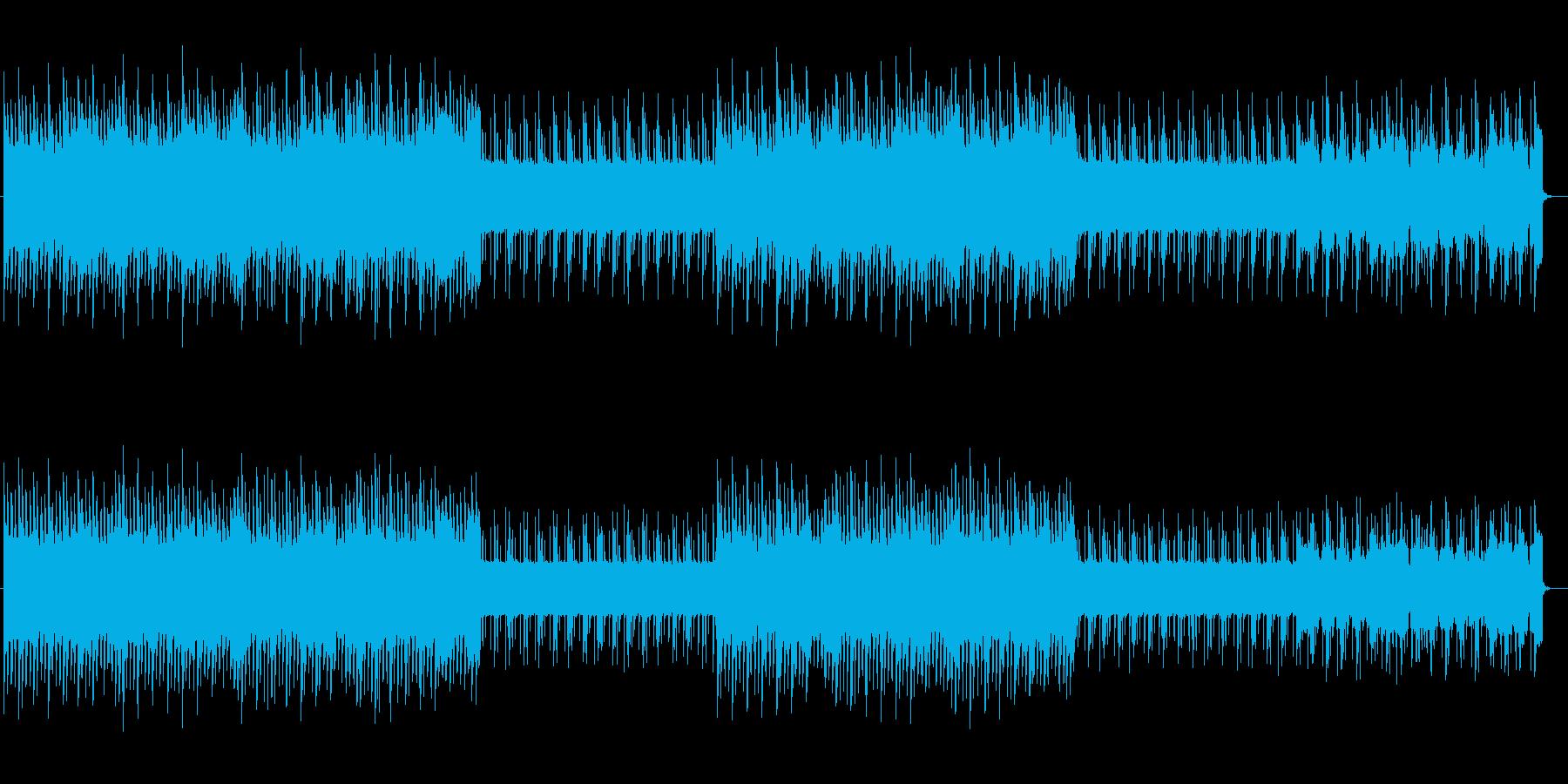 不思議なピアノが魅力的なポップ曲の再生済みの波形