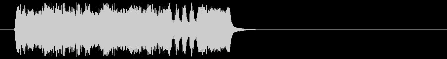 場面転換 スケール感 格調 荘厳の未再生の波形