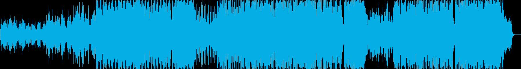 80年代のポップソングの伴奏。ギタ...の再生済みの波形