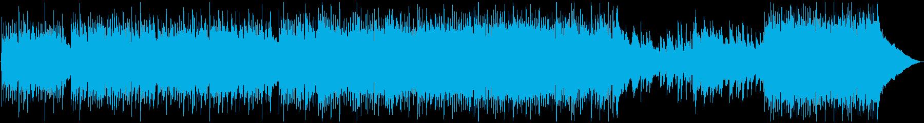 明るく軽快なアコースティックポップの再生済みの波形