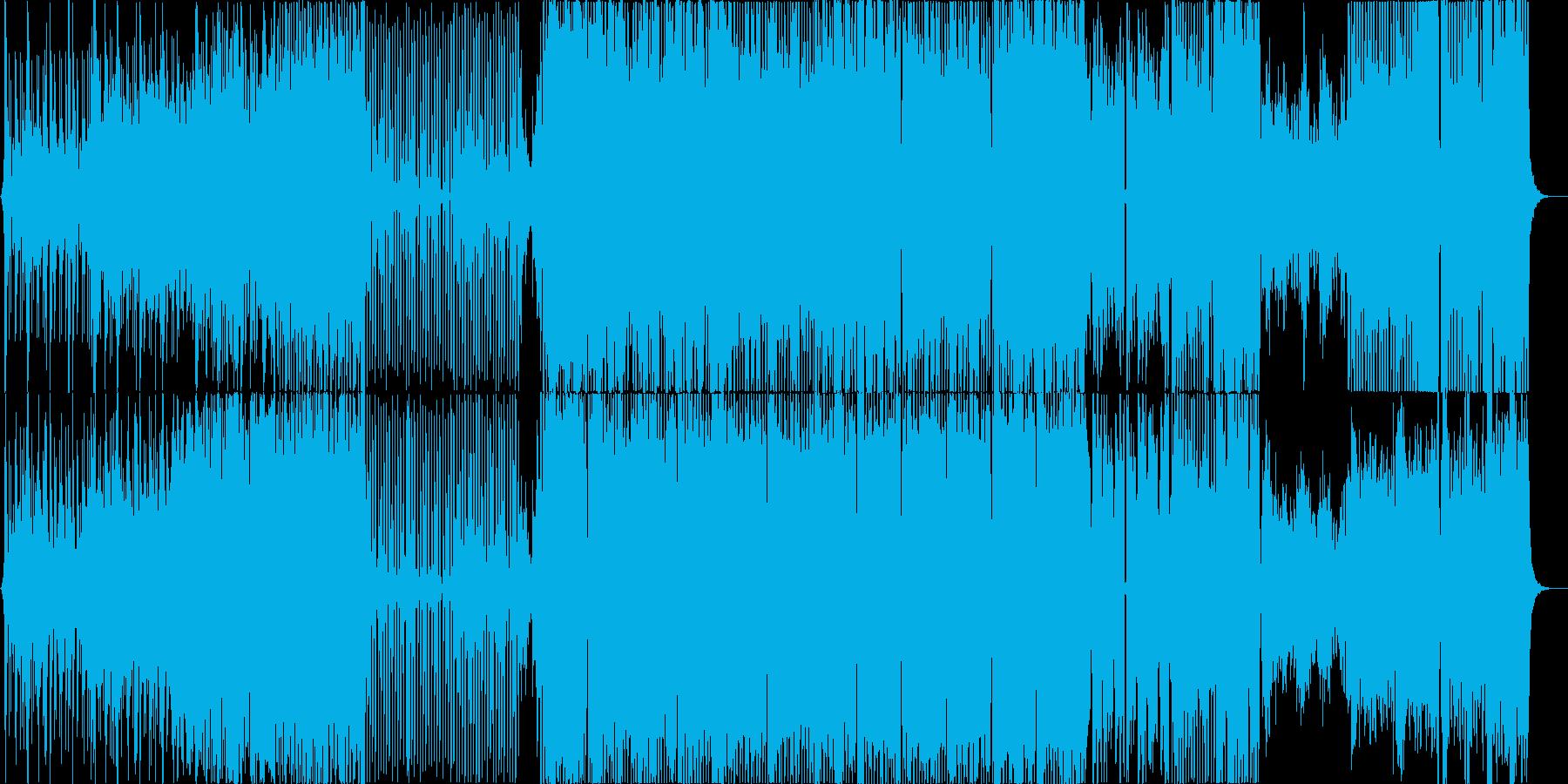 お囃子入り、和風EDMの再生済みの波形