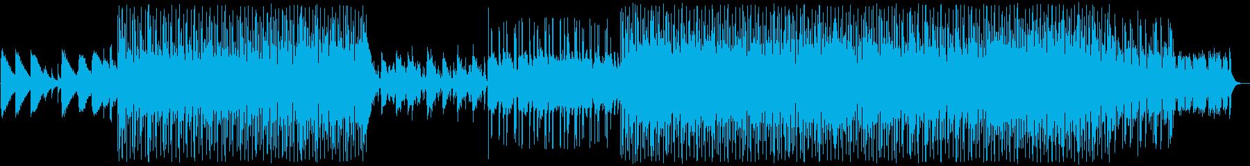 エレピとシンセ、渚と夕日のシティポップの再生済みの波形